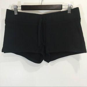 Tna Aritzia Sweat Shorts Black Size Medium